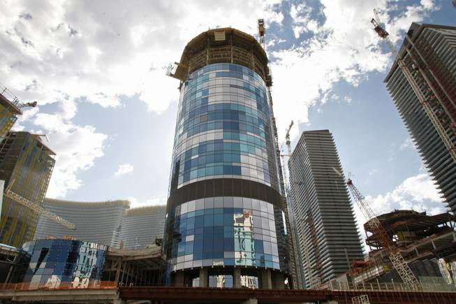 Vegas Harmon Tower to be imploded