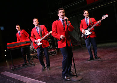 Vegas Jersey Boys Show