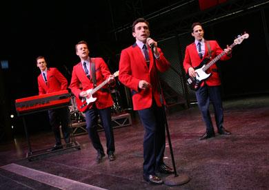 Vegas Jersey Boys Show