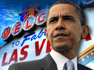 Las Vegas Obama