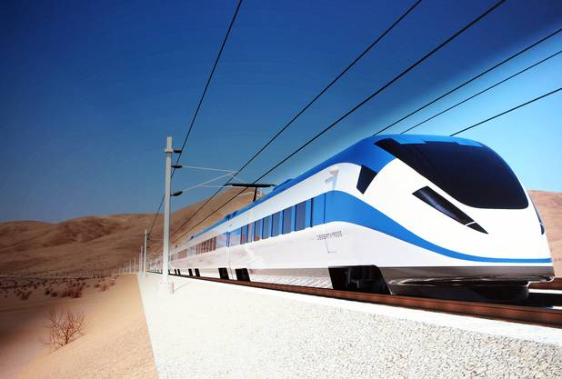 vegas to california rail line