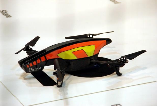 CES 2012 quadricopter