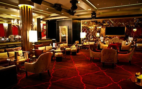 Gold Lounge Aria