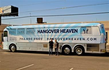 Vegas Hangover bus
