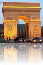 Paris Las Vegas The Arc de Triomphe