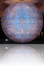 Planet Hollywood Inside Casino Glass Ball