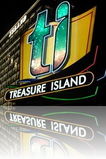 Treasure Island Main Sign