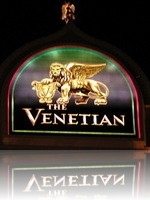 The Venetian Las Vegas Sign