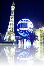 Paris Las Vegas from the Strip
