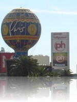 Paris Las Vegas and Planet Hollywood