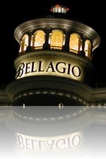 Bellagio Tower During the Evening
