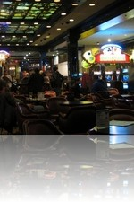 Bills Gambling Hall Casino Floor and Stage Area