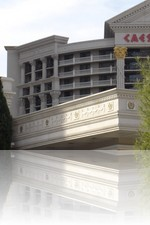 Caesars Palace From the Front