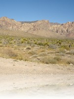 Arriving to Death Valley