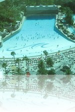 Mandalay Bay Pool from our room