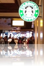 Starbuck inside The Mirage