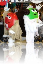Starwars M & M's at the M&M Factory in Vegas