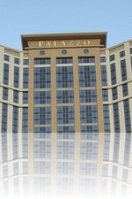 The Palazzo from the front