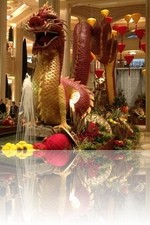 Palazzo Lobby during Chinese New Year