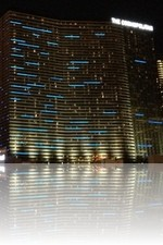 Cosmopolitan Las Vegas during the nighttime