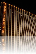 Tropicana Las Vegas During the night