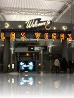 Arriving in Las Vegas Airport Sign